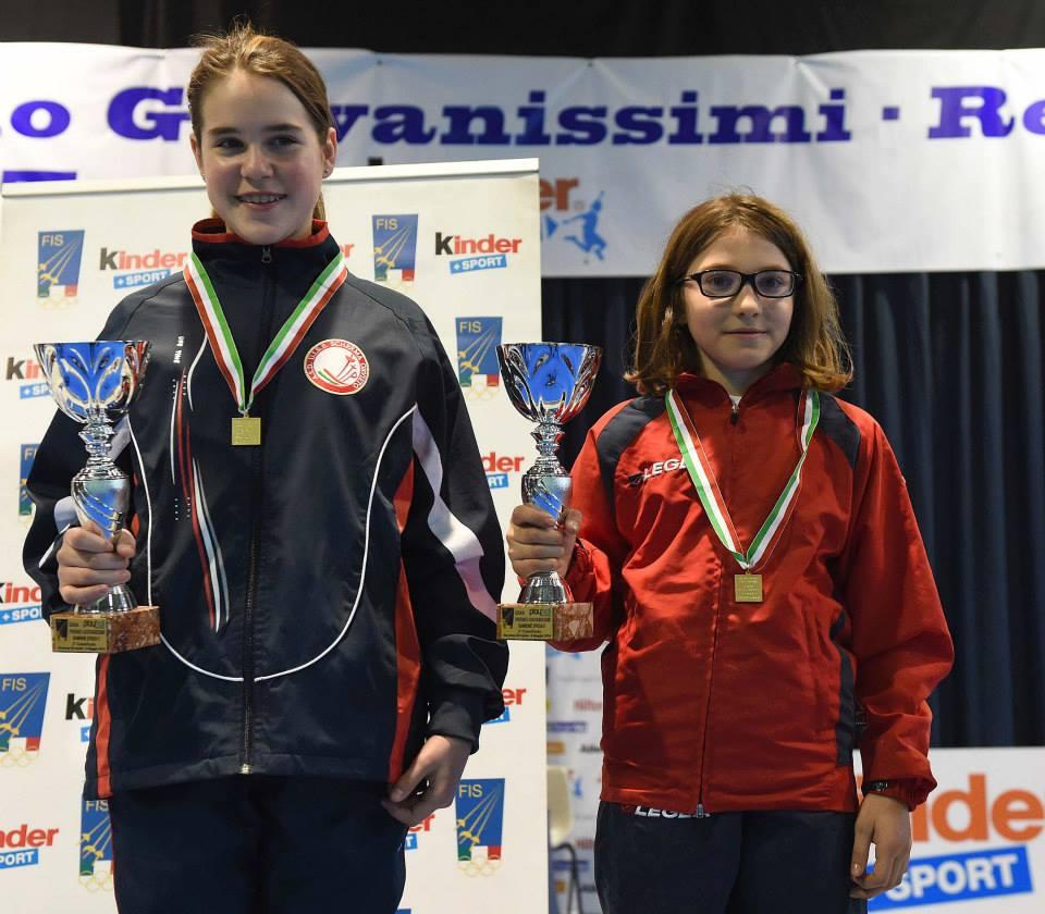 Uisp Scherma: Lavinia Berardelli terza ai campionati italiani di Riccione