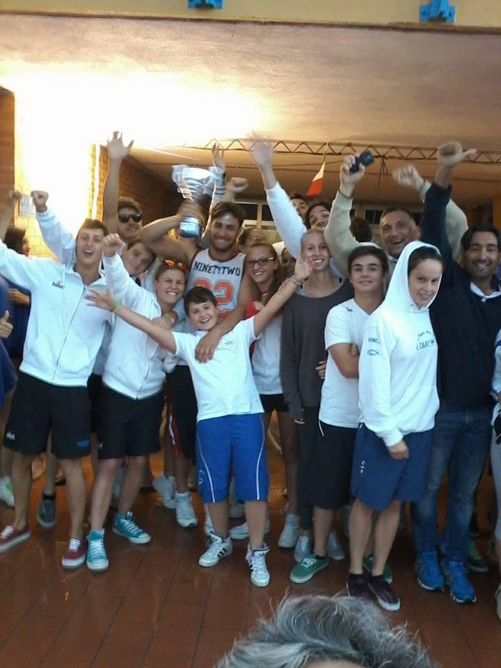 Uisp Nuoto Orvieto, terzo posto ai campionati regionali assoluti FIN