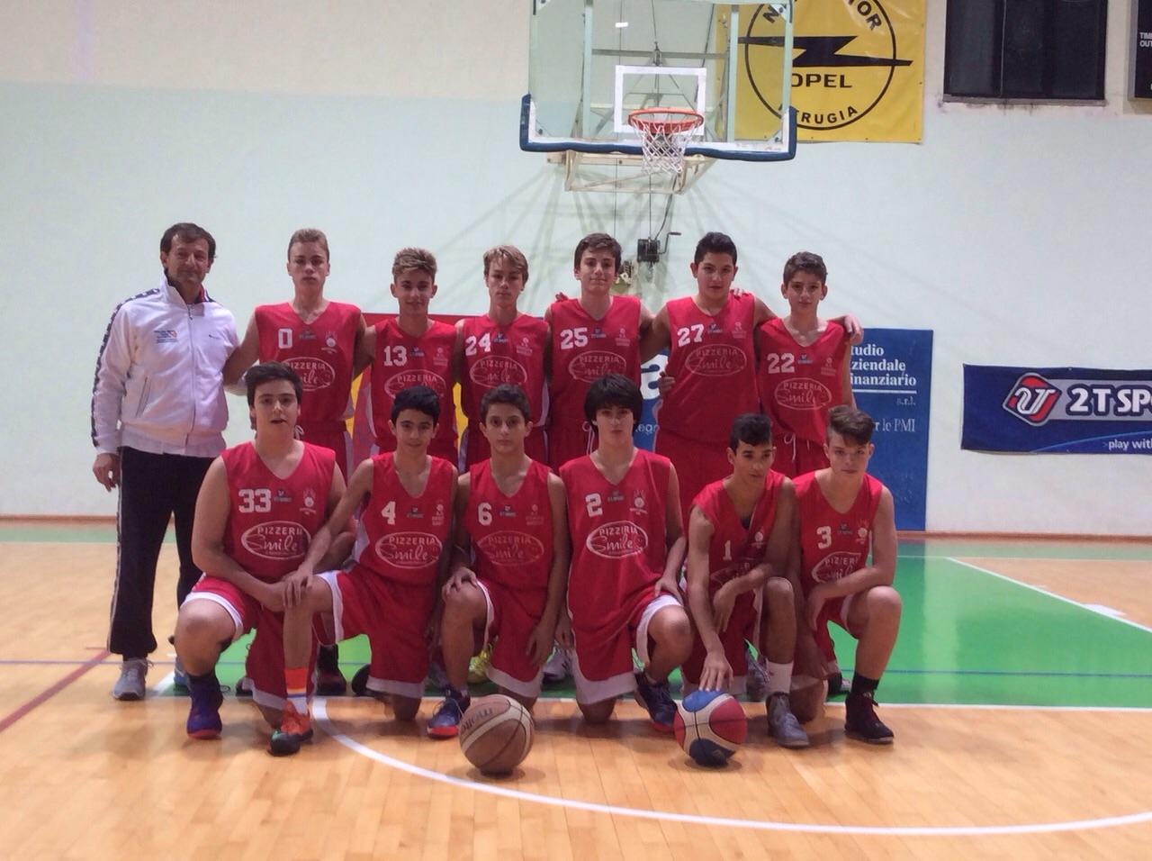 Orvieto Basket U15E. I giovani leoncini mettono la quinta e in casa del Gubbio volano alla vittoria