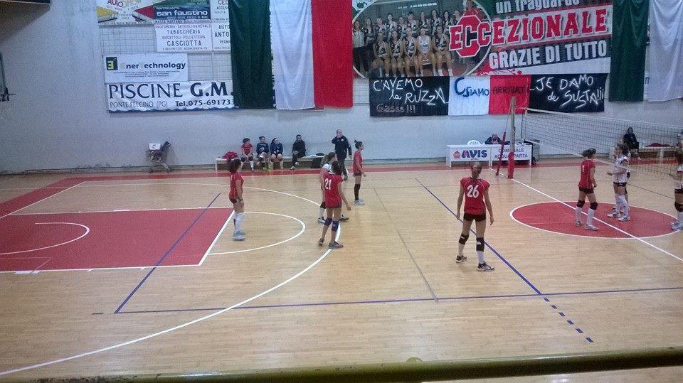 Esordio vincente dell'U16 Volley Team Orvieto