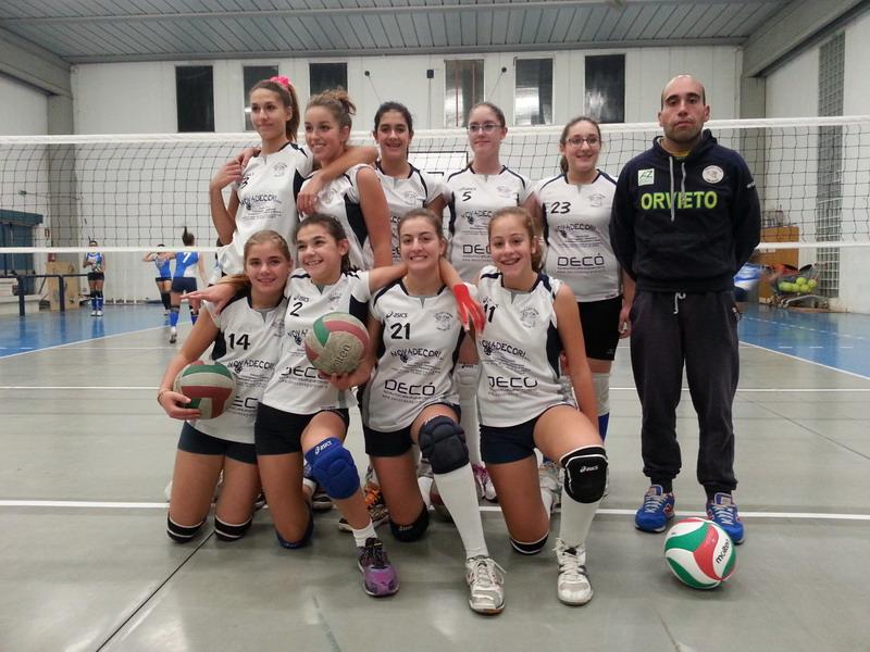 Comincia bene l'U14 del Volley Team Orvieto