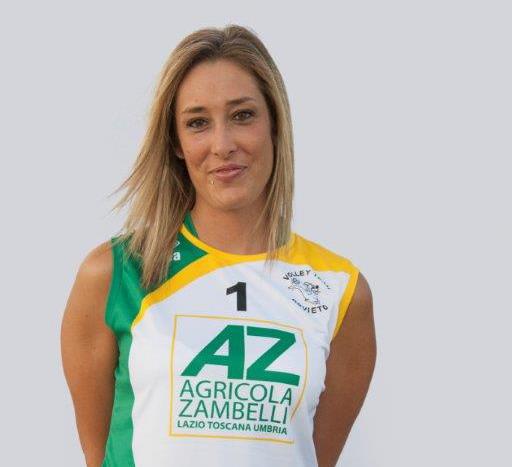 La Zambelli Orvieto punta ancora su Eleonora Fastellini