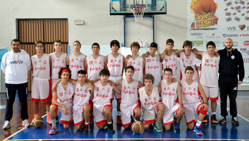Under 17 Orvieto Basket – Delusione reatina
