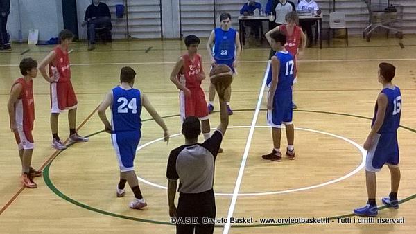 Orvieto Basket U17. Sconfitta a Ellera