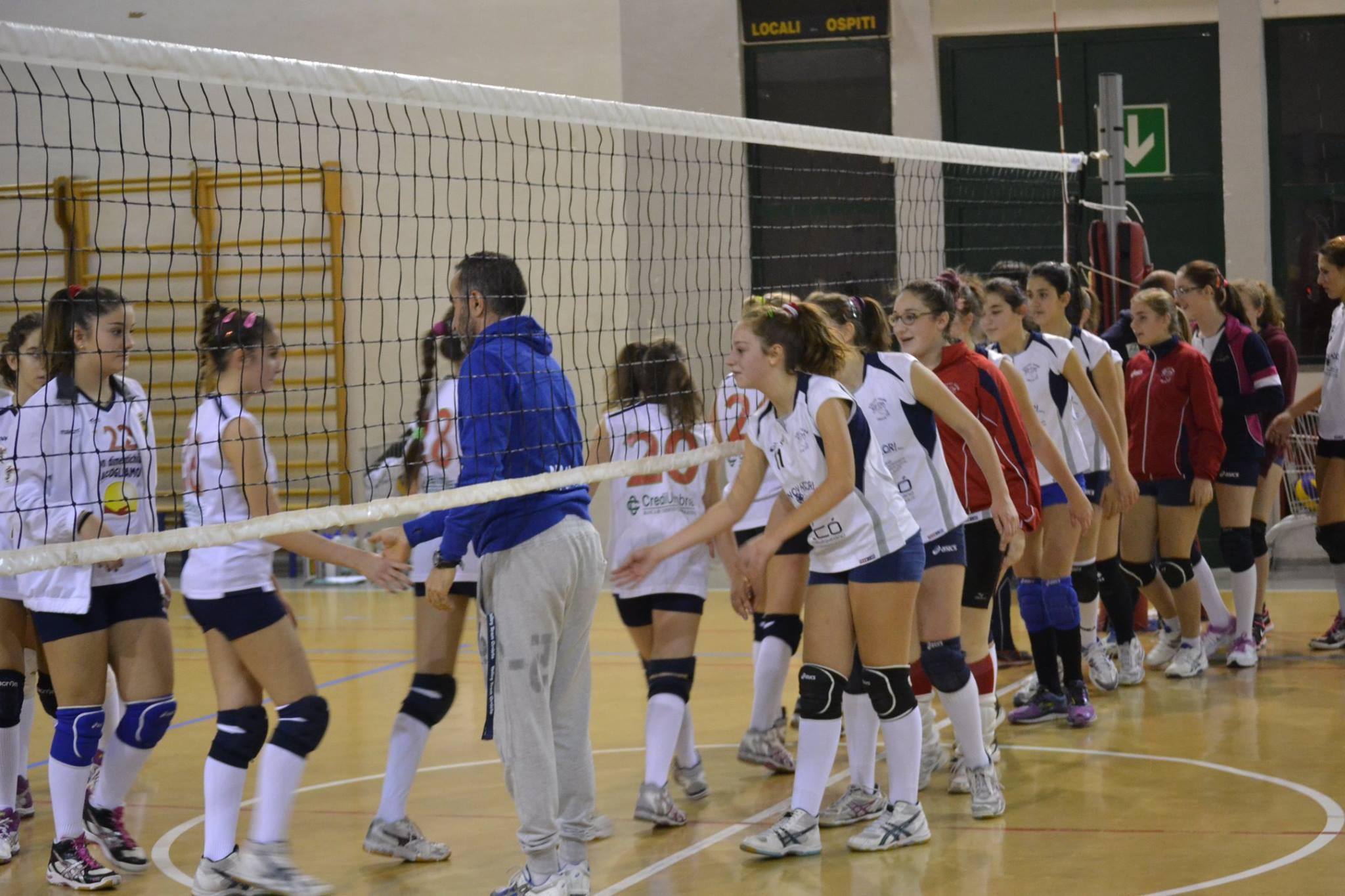 Volley Team Orvieto U14 apre con l'ennesima vittoria il 2015