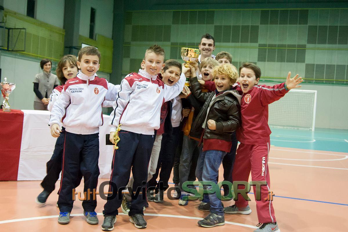 Orvietana '05 campione al Torneo di Natale, per il 2004 trionfa il Campitello