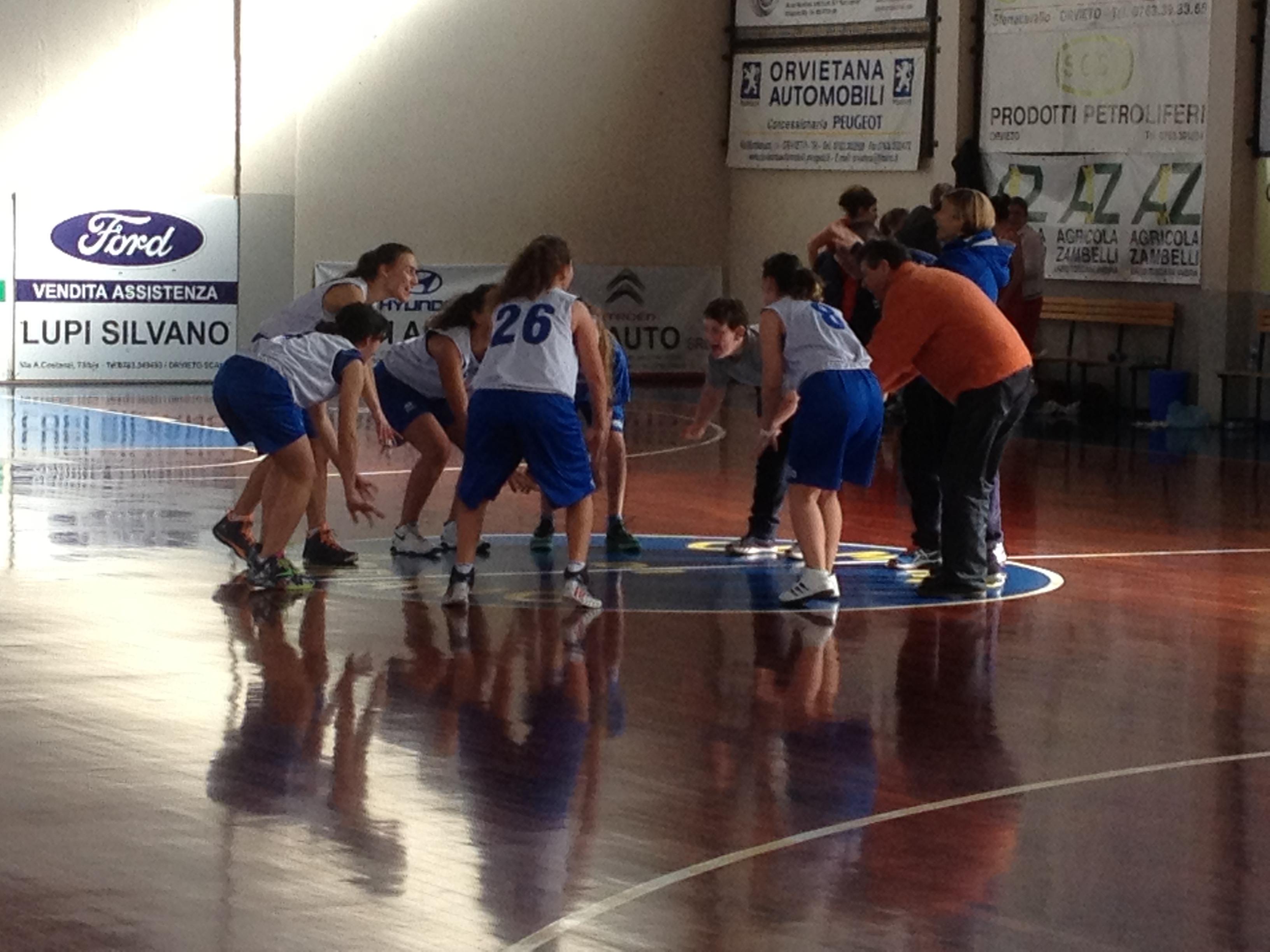 Ancora vittoriosa la Azzurra Vetrya Orvieto U17. Batte a Porano il BC Perugia per 59 a 43