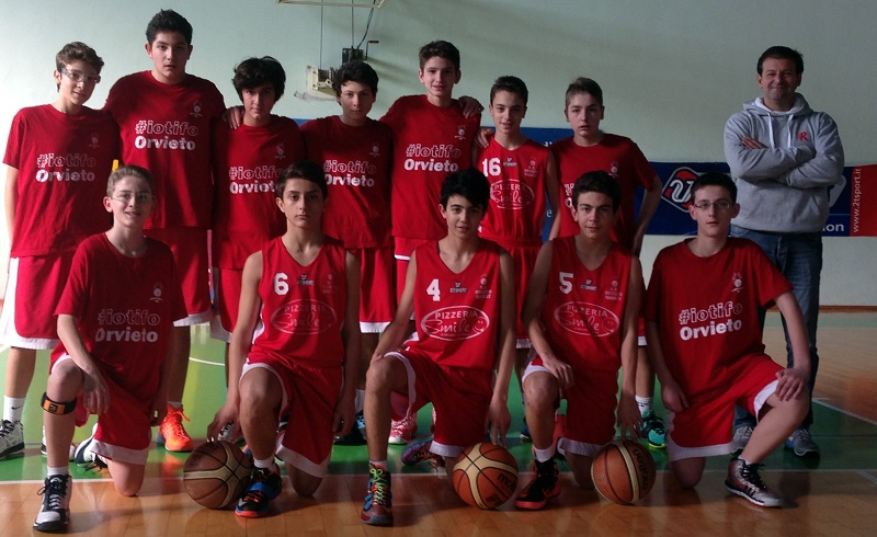 Orvieto Basket U14E. Si chiude la prima fase con una sconfitta