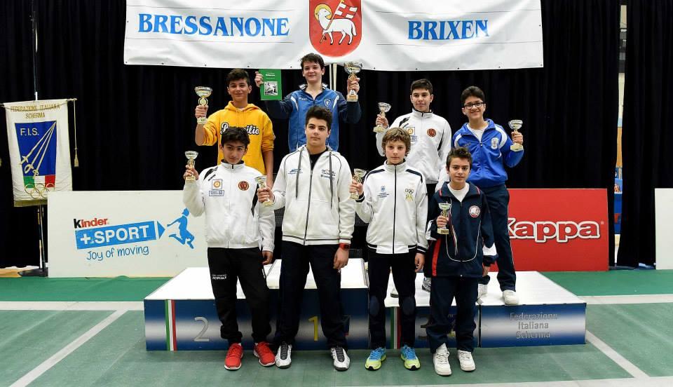 Strepitosa UISP Scherma a Bressanone: Olimpieri e Caiello nei primi otto