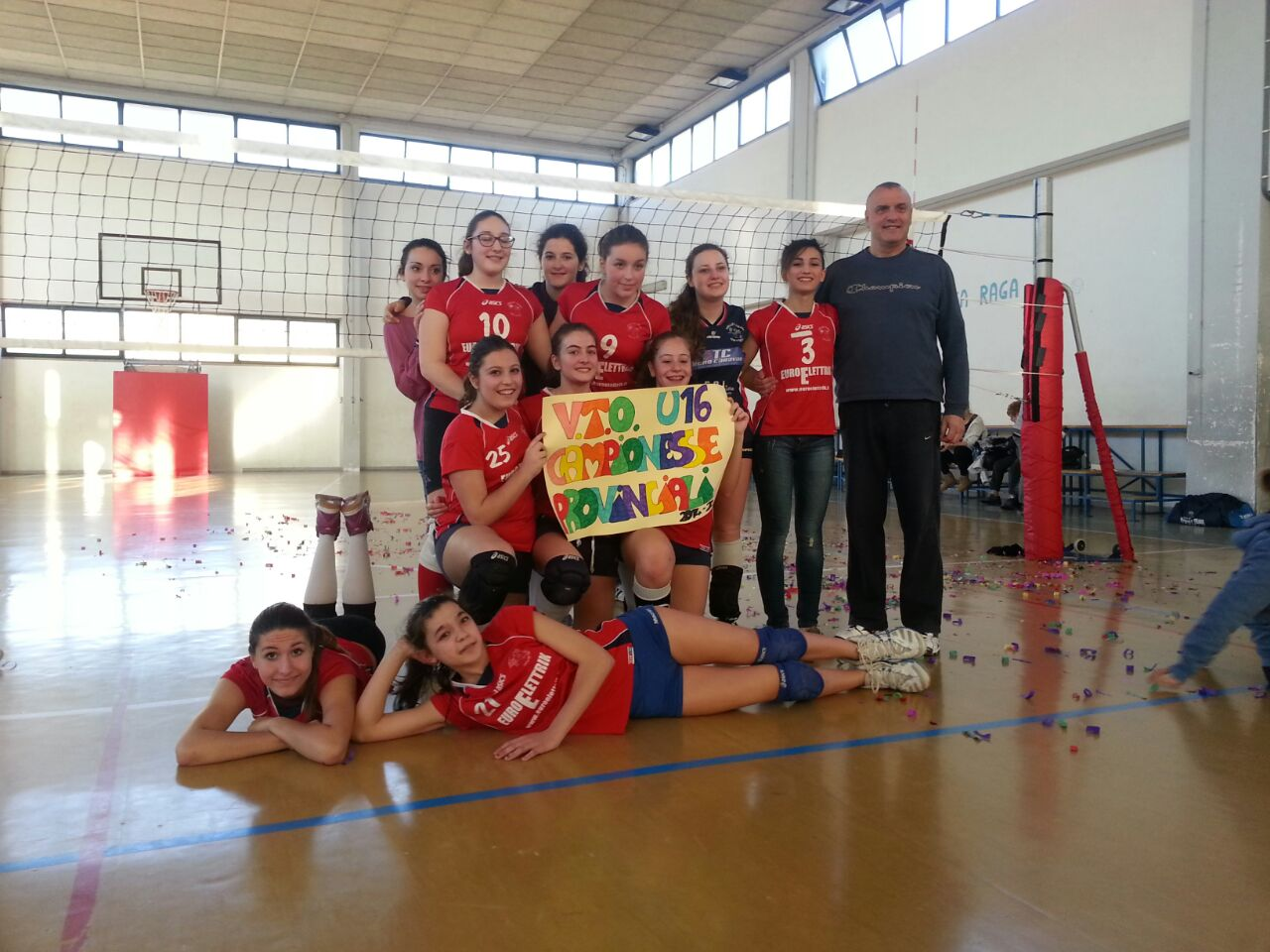BBS CONSULTING Volley Team Orvieto campionesse provinciali U16