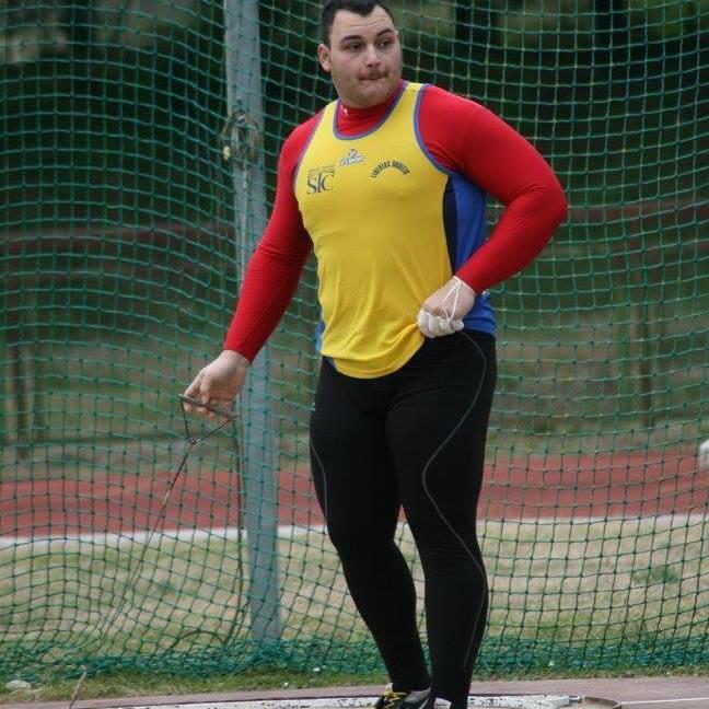 Record Regionale nel lancio del martello per Mirko Casavecchia 62,52m