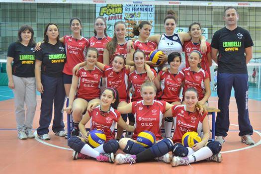 VTo Under 13 campioni provinciali