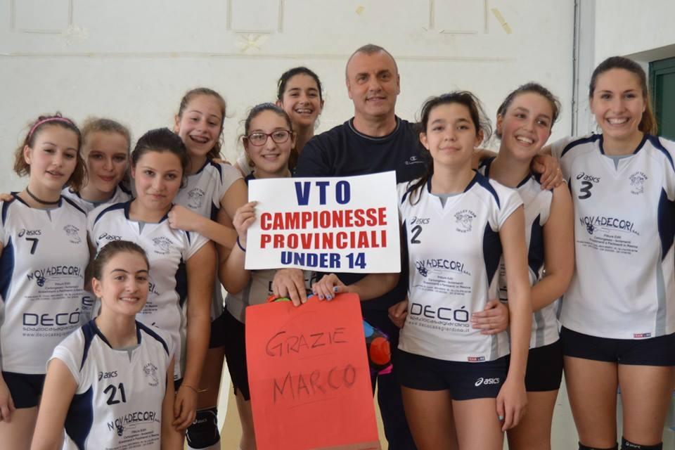Il Volley Team Orvieto è campione provinciale U14