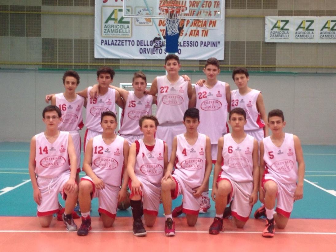 Orvieto Basket u14. Conto alla rovescia per le Final Four a Ferro di Cavallo (PG)