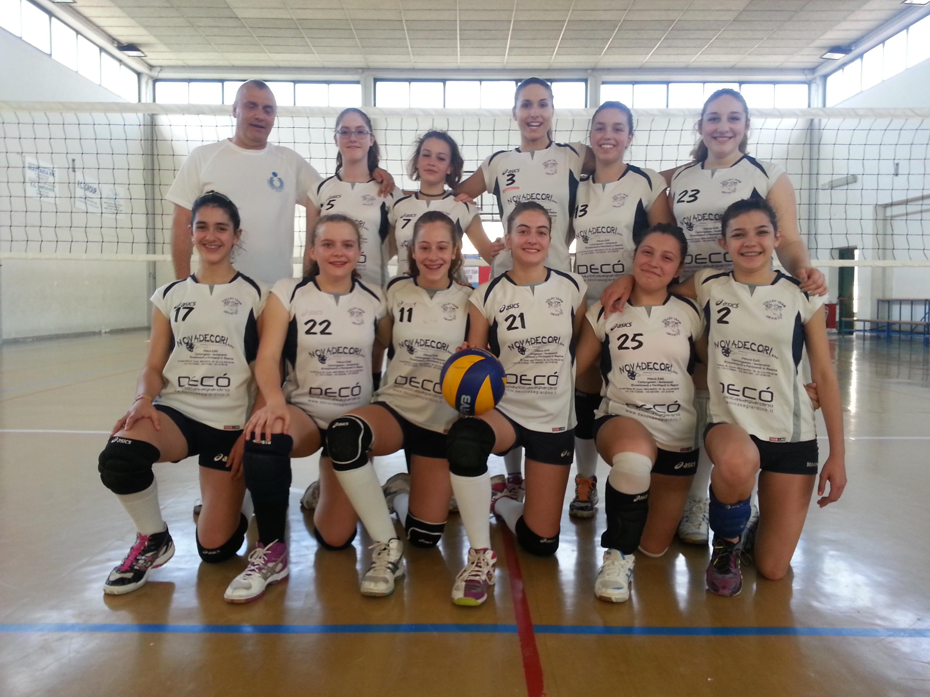 U14 del Volley Team Orvieto esce sconfitta dalla semifinale regionale