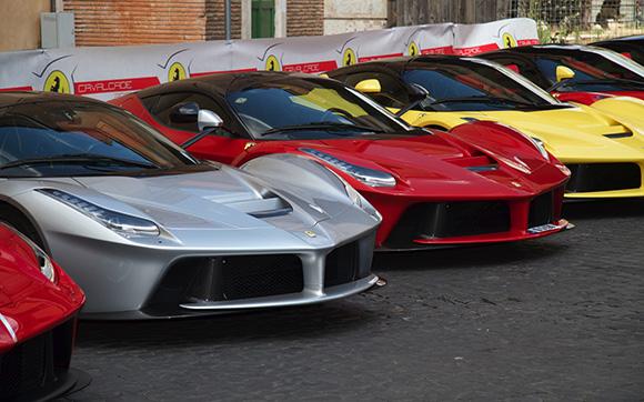 Tocca la Città di Orvieto il 3o Raduno Ferrari Calvacade 2019