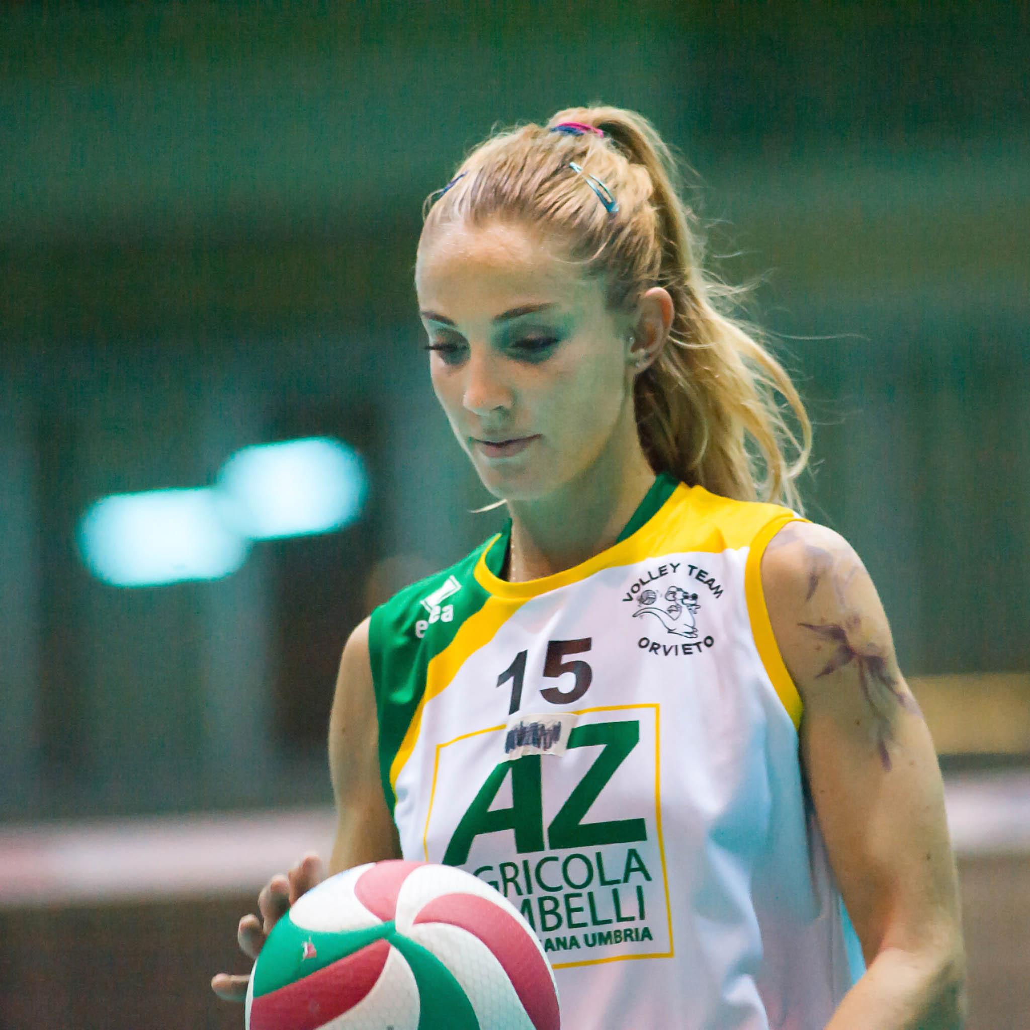 Serena Ubertini ancora capitano della Zambelli