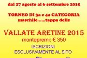 Tennis 90 Orvieto. Torneo Vallate Aretine 2015