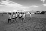 Ceprini. Preparazione atletica sulla sabbia di Montalto e basket al PalaPorano