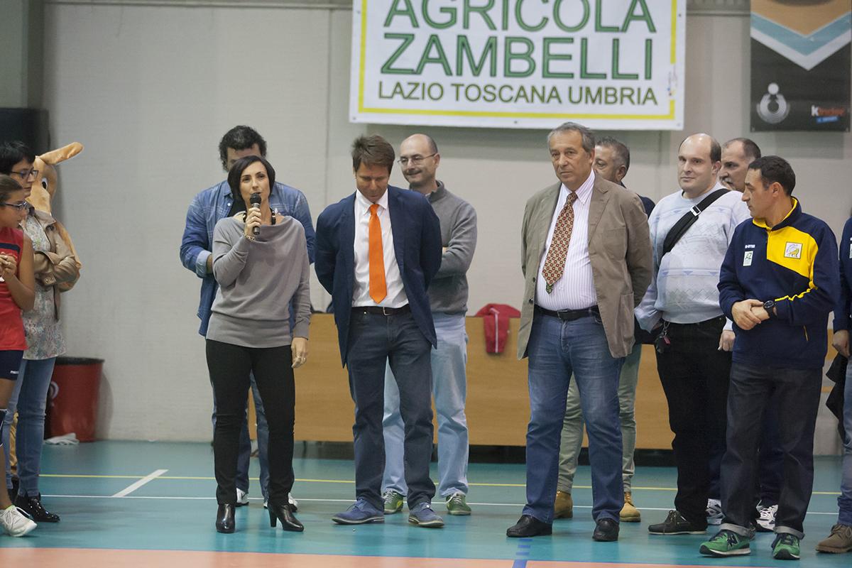 Domenica affollata e tanto divertimento alla presentazione della Zambelli Orvieto