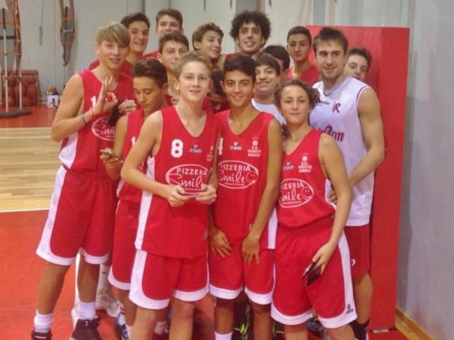 Bella esperienza a Reggio Emilia per gli under 15 Orvieto Basket