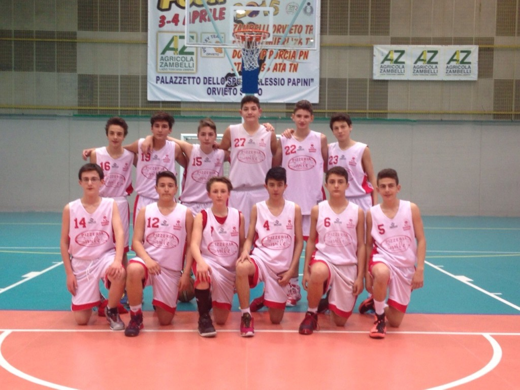 Orvieto Basket under 15 via al campionato