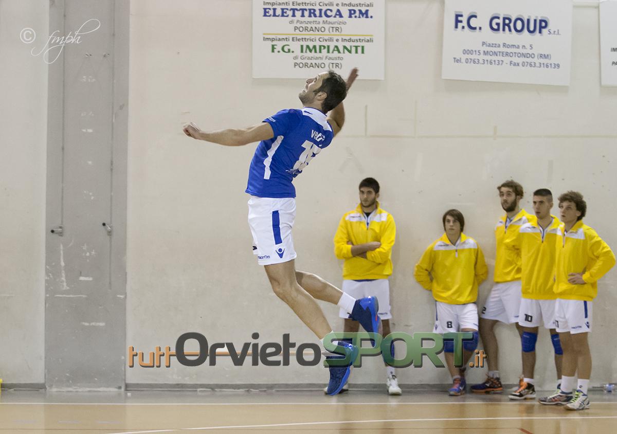 Derby amaro per la Libertas Pallavolo Orvieto: la Ledlink Perugia vince 3-0