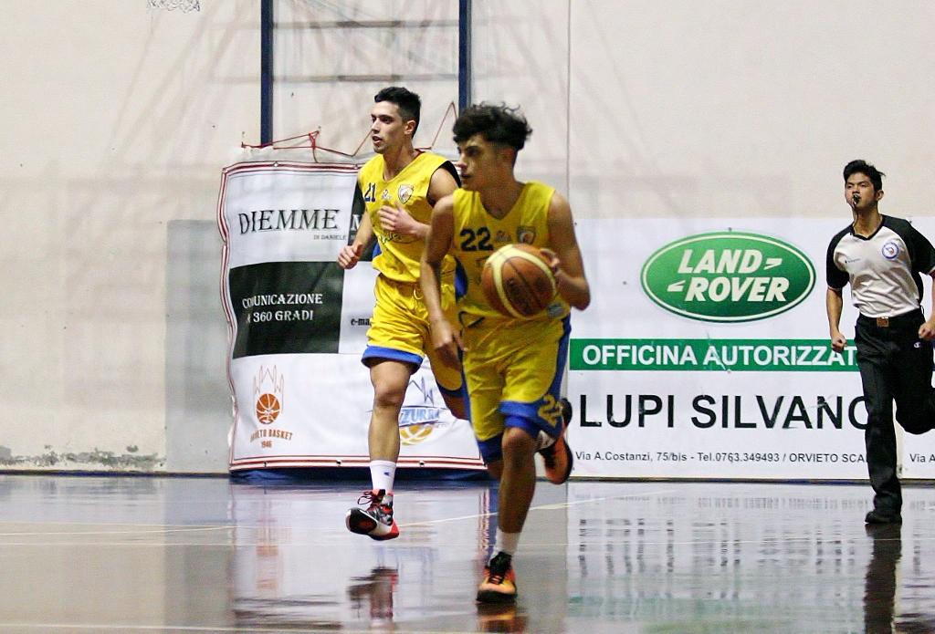 Orvieto Basket Promozione, si torna alla vittoria