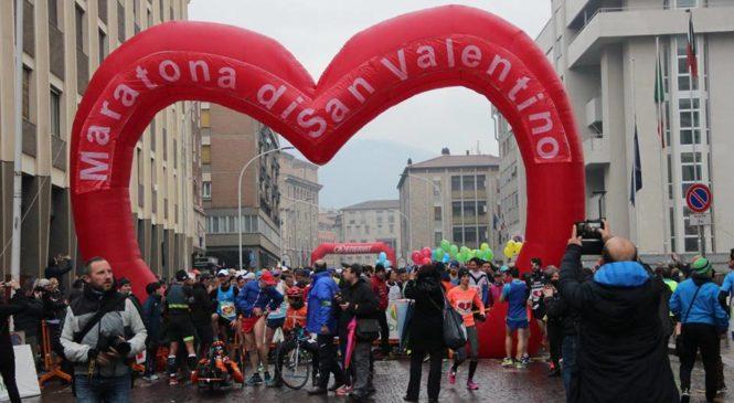 Super-podisti della Libertas Orvieto alla Maratona di San Valentino