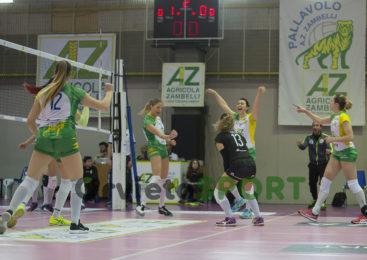 La Zambelli Orvieto ritrova tre punti contro Olbia ed è ottava da sola