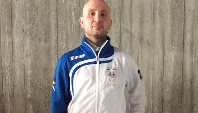 Mirko Grillo in nazionale sbandieratori
