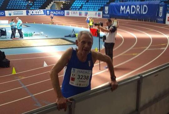 Romolo Pelliccia campione europeo indoor nella 3Km di marcia