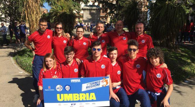 Al Torneo delle Regioni di calcio a 5 le quattro squadre dell'Umbria parlano anche OrvietoFC