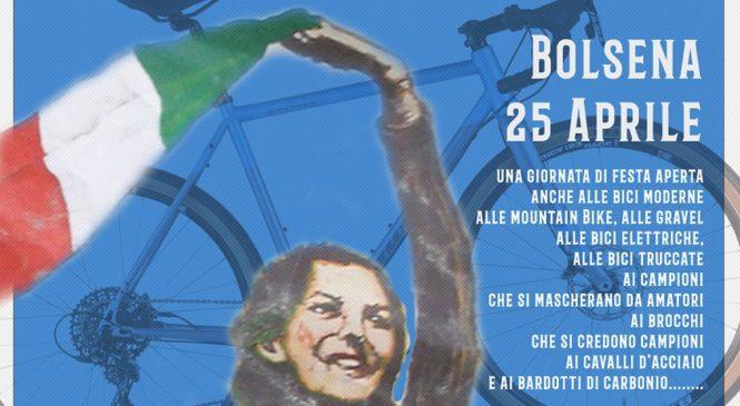 """""""La Carrareccia Liberata"""" manifestazione cicloturistica su cinque percorsi"""
