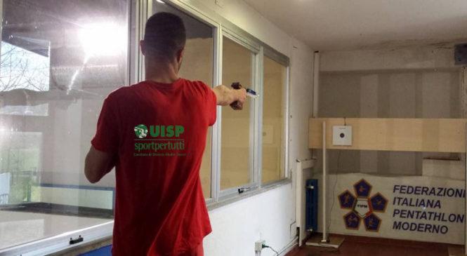 Inaugurata Martedi 10 Aprile 2018 la sala di tiro con pistola laser della Pertica Orvieto