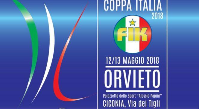 Coppa Italia FIK Federazione Italiana Karate a Orvieto dall'11 al 13 maggio