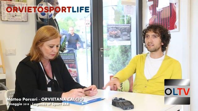 OrvietoSportLIFE – Matteo Porcari (Orvietana Calcio)