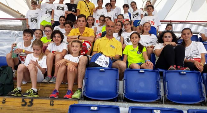 Orvieto sul podio del Palio dei Comuni allo stadio Olimpico di Roma. Bronzo per l'Atletica Libertas