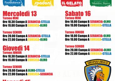 """Via al IX Torneo Torneo dei Quartieri di Basket """"Città di Orvieto – Corrado Spatola"""""""