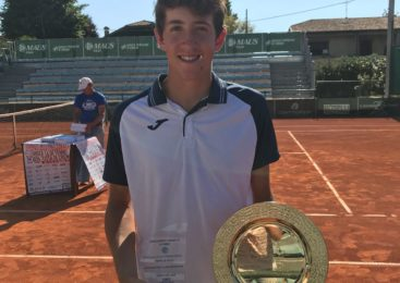 "Trippetti del TC.Open vince il ""Tennis Europe"" under 16 di Crema"