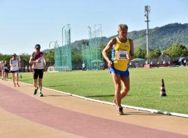 Doppio oro mondiale nella marcia per Romolo Pelliccia