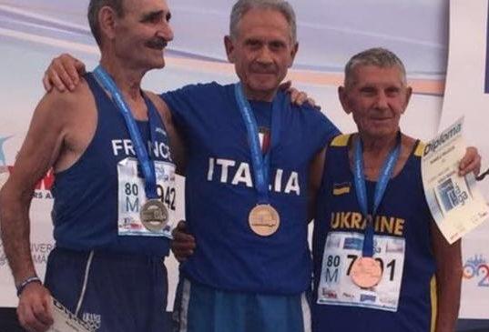 Romolo Pelliccia campione del mondo nella Marcia 5 Km a Malaga 2018