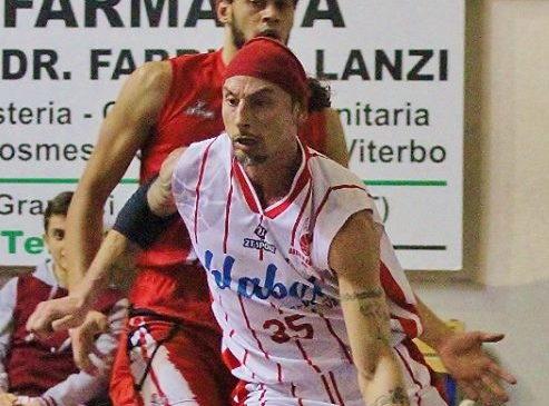 Fabio Marcante di nuovo in maglia Orvieto Basket