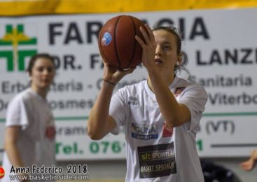 Anna Bambini torna in maglia Azzurra Orvieto