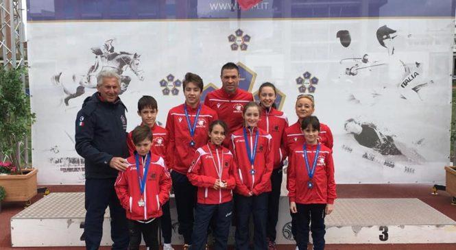 Gli atleti di ASD Pertica Orvieto protagonisti al Trofeo Nazionale di Pentathlon Moderno ad Asti