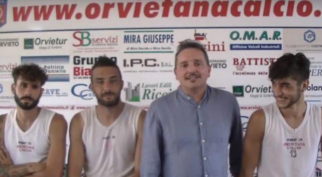 Orvietana, Marco Gobbino dà voce ai protagonisti. Si comincia con Cotigni, Danieli e Mortaroli