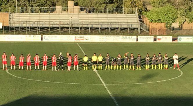 1-1 tra Orvietana e Tiferno Lerchi. Biancorossi fuori dalla Coppa
