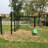 Inaugurata a Ciconia nuova area fitness all'aperto