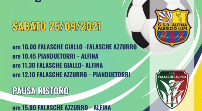 """Il GSD Alfina """"Fabrizio Lupi"""" si aggiudica il I Torneo dei Gialloblu"""